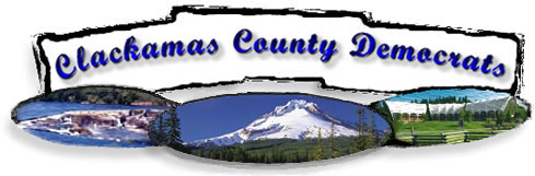 Logo for the Democratic Party of Clackamas County